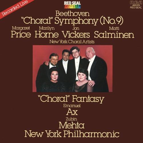 Beethoven: Symphony No. 9 Op. 125 'Choral' & Choral Fantasy Conclusion von Zubin Mehta
