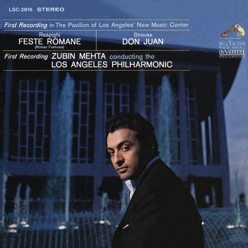 Respighi: Feste romane - Strauss: Don Juan, Op. 20 di Zubin Mehta