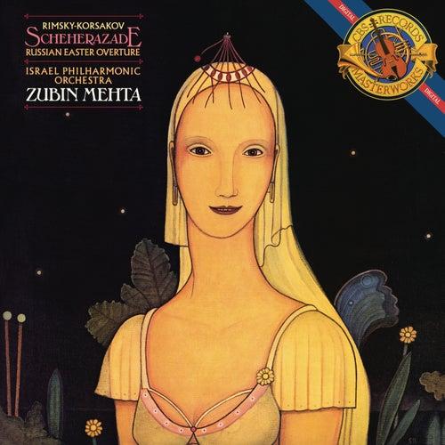 Rimsky-Korsakov: Scheherazade, Op. 35 & Russian Easter Overture, Op. 36 von Zubin Mehta