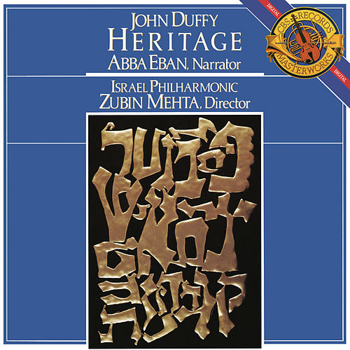 Duffy: Heritage - Symphonic Suite by Zubin Mehta