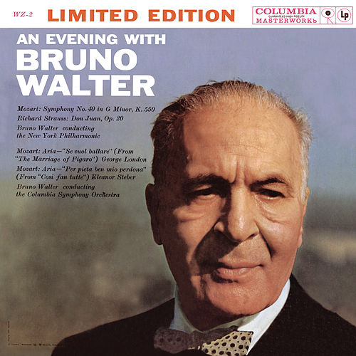 An Evening with Bruno Walter - with Commentary by Bruno Walter de Bruno Walter