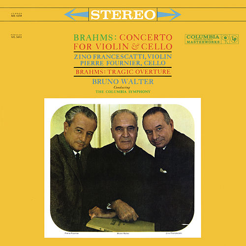 Brahms: Double Concerto, Op. 102 & Tragic Overture - Schumann: Sympony No. 1, Op. 68 (Remastered) de Bruno Walter