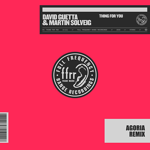 Thing For You (Agoria Remix) de David Guetta & Martin Solveig