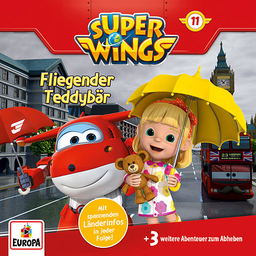 011/Fliegender Teddybär von Super Wings