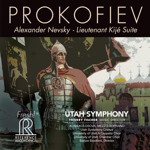 Prokofiev: Alexander Nevsky, Op. 78 & Lieutenant Kijé Suite, Op. 60 von Utah Symphony Orchestra
