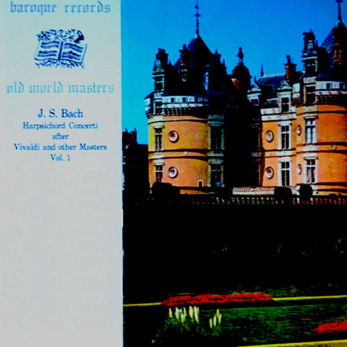 J.S.Bach - Harpsichord Concerti After Vivaldi And Other Masters, Vol.1 de Kenneth Gilbert
