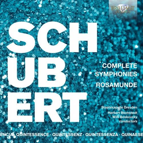 Quintessence Schubert: Complete Symphonies, Rosamunde de Staatskapelle Dresden
