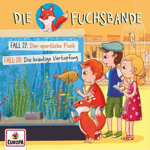 014/Fall 27: Der sportliche Fisch / Fall 28: Die krautige Vertopfung von Die Fuchsbande