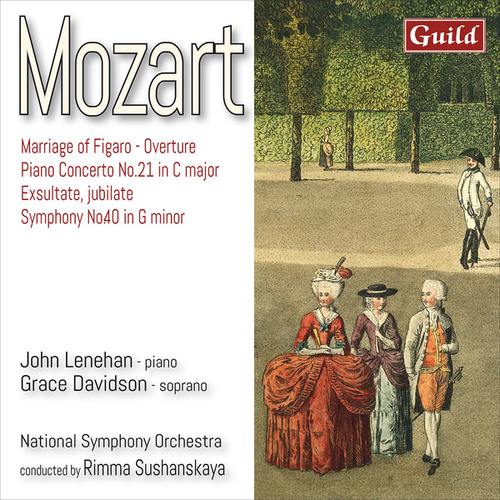 Mozart: Works by National Symphony Orchestra