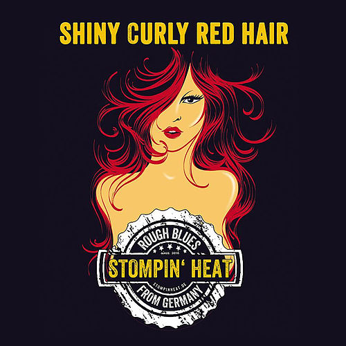 Shiny Curly Red Hair by Stompin Heat