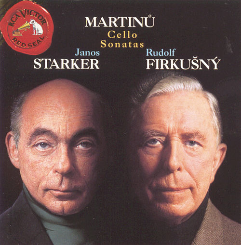Martinu: Cello Sonatas by Janos Starker