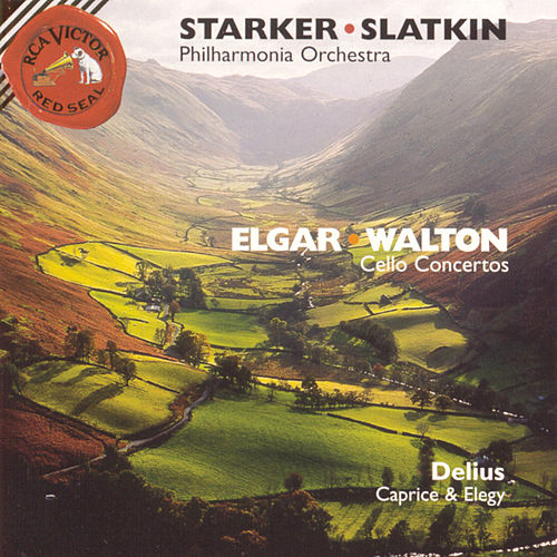 Elgar/Walton: Cello Concertos; Delius: Caprice and Elegy by Janos Starker