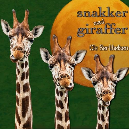 Snakker med giraffer by Ole Berthelsen
