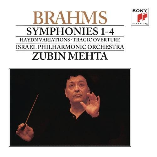 Brahms: Symphonies Nos. 1-4 & Tragic Overture by Zubin Mehta