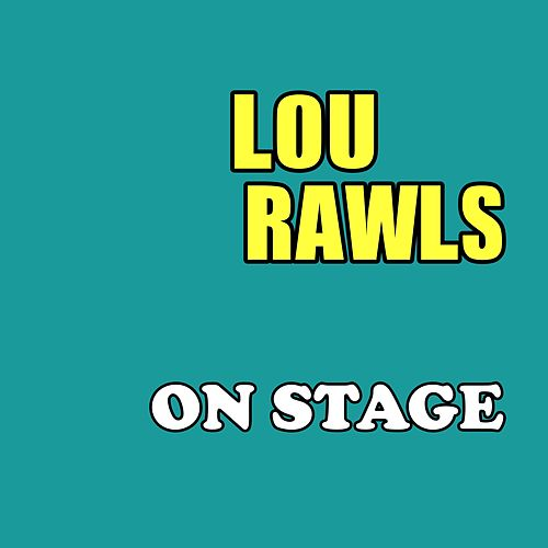 On Stage de Lou Rawls