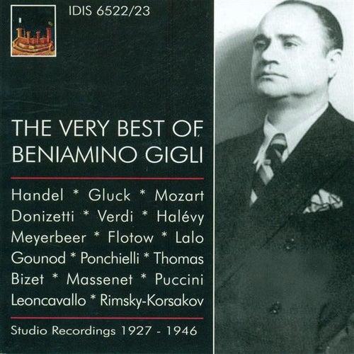 Opera Arias (Tenor): Gigli, Beniamino (The Very Best of Beniamino Gigli) (1927-1946) de Various Artists