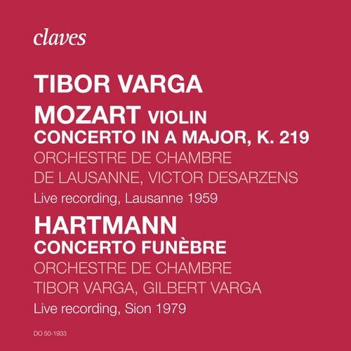 Tibor Varga, Rare Live Recordings by Tibor Varga