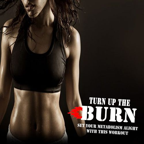 Turn up the Burn (Set Your Metabolism Alight with This Workout) (The Best Music for Aerobics, Pumpin' Cardio Power, Plyo, Exercise, Steps, Barré, Routine, Curves, Sculpting, Abs, Butt, Lean, Twerk, Slim Down Fitness Workout) by Global Cardio Allstars
