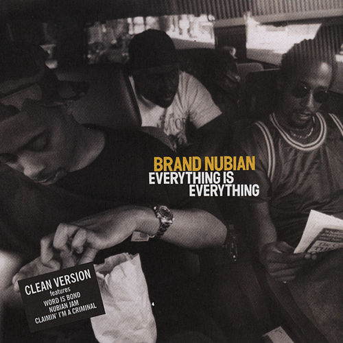 Everything Is Everything by Brand Nubian