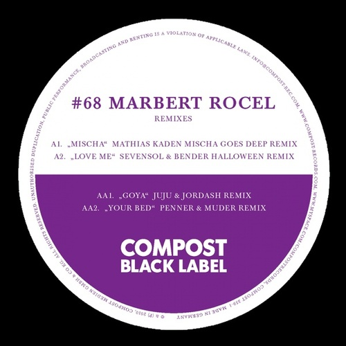 Black Label #68 Remix EP de Marbert Rocel
