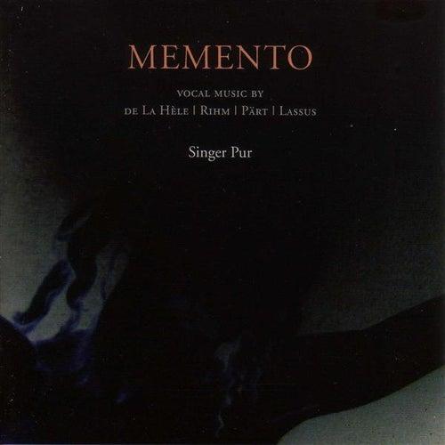 Part, A.: Mementoi / La Hele, G.: Missa Quare Tristis Es / Rihm, W.: Caligaverunt Oculi Mei / Recessit Pastor Noster by Singer Pur