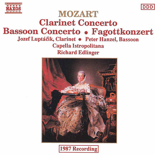 Mozart: Clarinet and Bassoon Concertos de Richard Edlinger