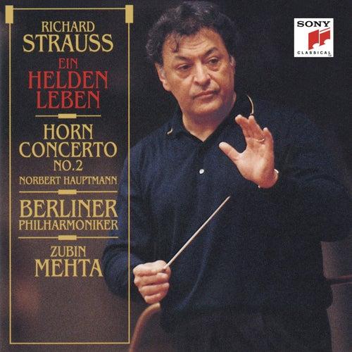 Strauss: Ein Heldenleben & Horn Concerto No. 2 von Zubin Mehta