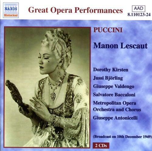 Puccini: Manon Lescaut (Kirsten, Björling) (1949) von Various Artists