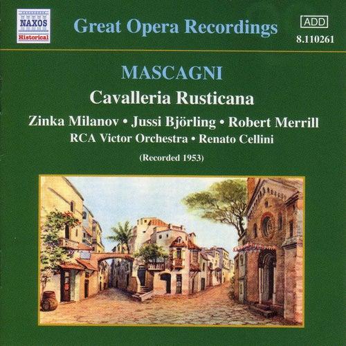 Mascagni: Cavalleria Rusticana (Milanov, Bjorling) (1953) von Various Artists