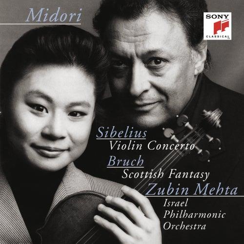 Sibelius: Violin Concerto, Op. 47 & Bruch: Scottish Fantasy, Op. 46 by Midori