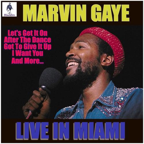 Marvin Gaye - Live in Miami (Live) van Marvin Gaye