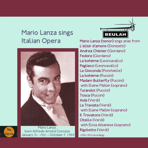 Mario Lanza Sings Italian Opera von Mario Lanza