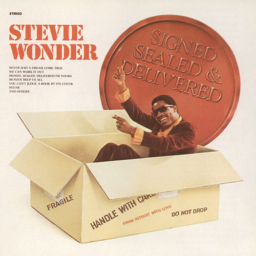 Signed Sealed And Delivered von Stevie Wonder