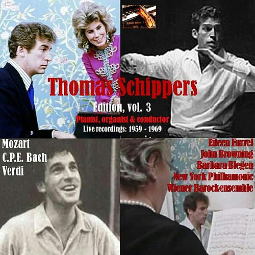 Thomas Schippers Edition, Vol. 3; Thomas Schippers soloist & conductor by Thomas Schippers