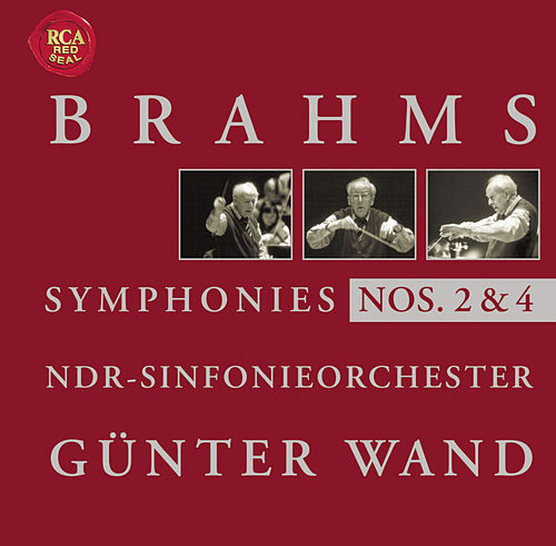 Brahms: Symphonies 2 + 4 by Günter Wand