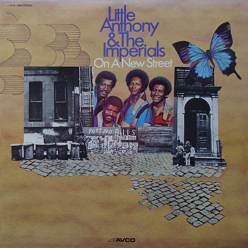 On a New Street / Hold On fra Little Anthony and the Imperials