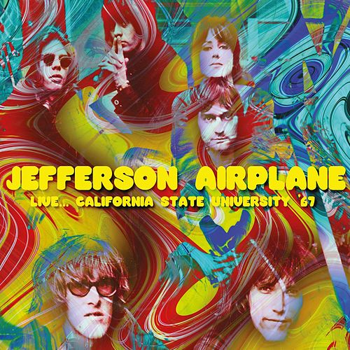 Live... California State University '67 de Jefferson Airplane