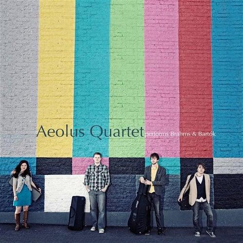 Aeolus Quartet performs Brahms and Bartok by Aeolus Quartet