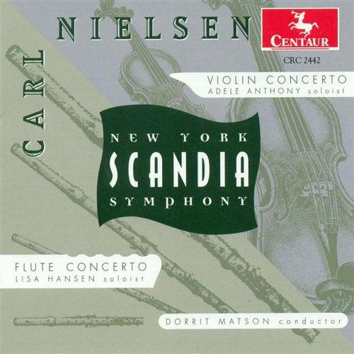 Nielsen, C.: Violin Concerto, Op. 33 / Flute Concerto de Dorrit Matson