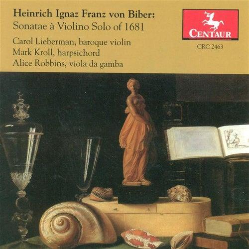 Biber, H.I.F. A Von: Violin Sonatas - Nos. 1, 2, 3, 5, 6, 8 de Various Artists