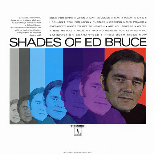 Shades of Ed Bruce de Ed Bruce