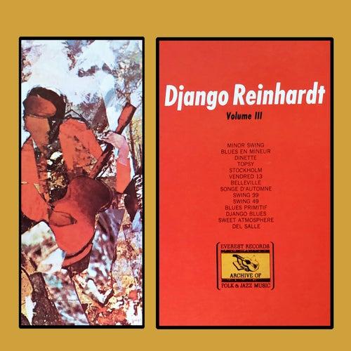 Volume III von Django Reinhardt