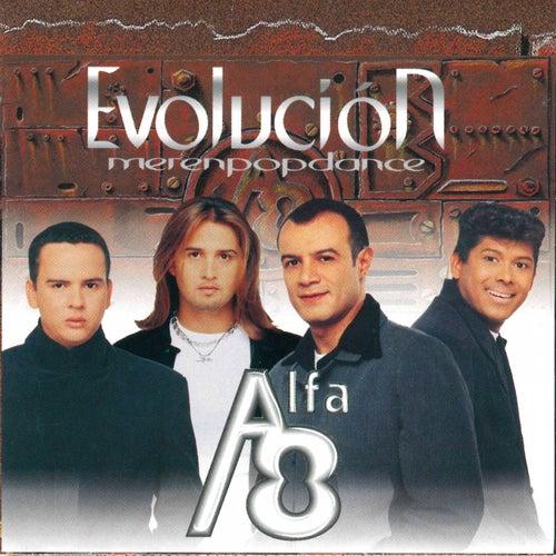 Evolución Merenpopdance de Los Alfa 8