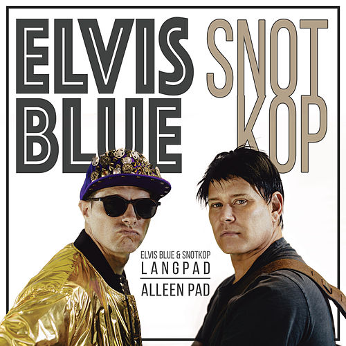 Langpad Alleen Pad de Elvis Blue
