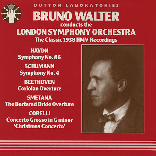 Bruno Walter Conducts The London Symphony Orchestra de Bruno Walter