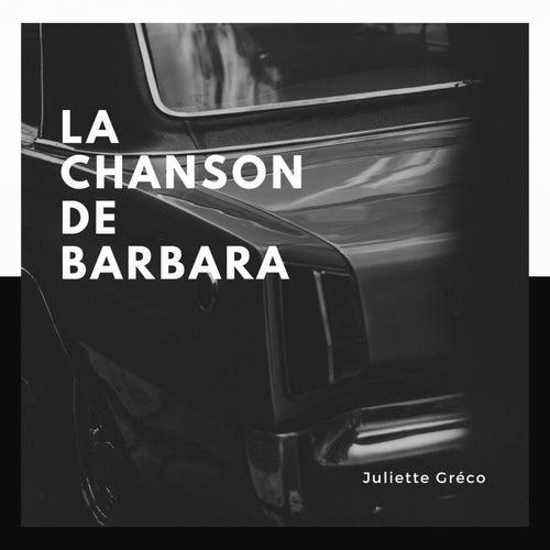 La chanson de Barbara von Juliette Greco