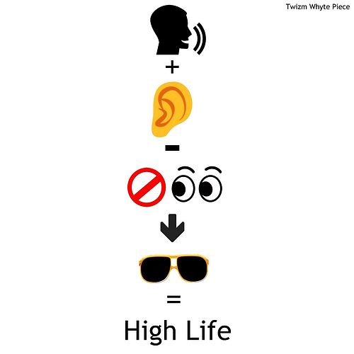 High Life by Twizm Whyte Piece