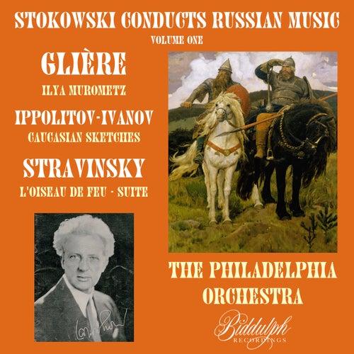 Stokowski Conducts Russian Music, Volume 1: Glière, Ippolitov-Ivanov, Stravinsky de Leopold Stokowski