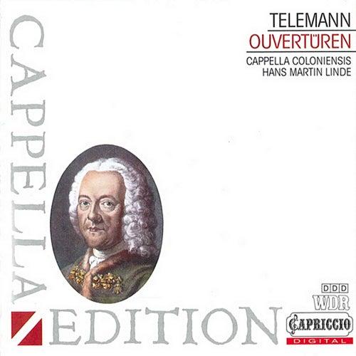 Telemann: Overtures de Hans-Martin Linde