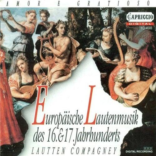 Lute Music (16Th-17Th Centuries) - Dowland, J. / Marchant, J. / Robinson, T. / Heckel, W. / Milano, F. Da / Arpinus, J. de Lautten-Compagney